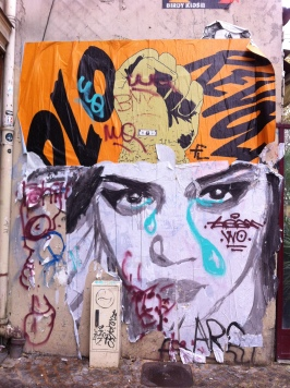 Beaubourg, Marais, Paris,Tag, Art grafftis,