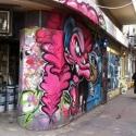 Tel Aviv, Allenby, le dragon aux couleurs vives