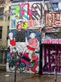 Paris, Belleville, Rue Dénoyez