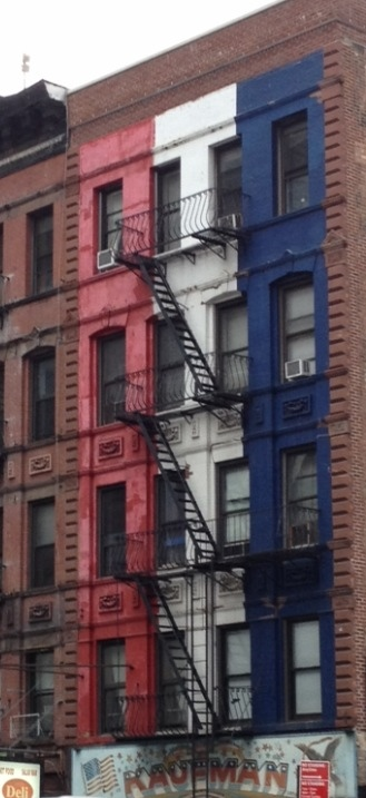 Bleu Blanc Rouge, à New York