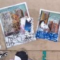Les Collages de la rue de la Clé