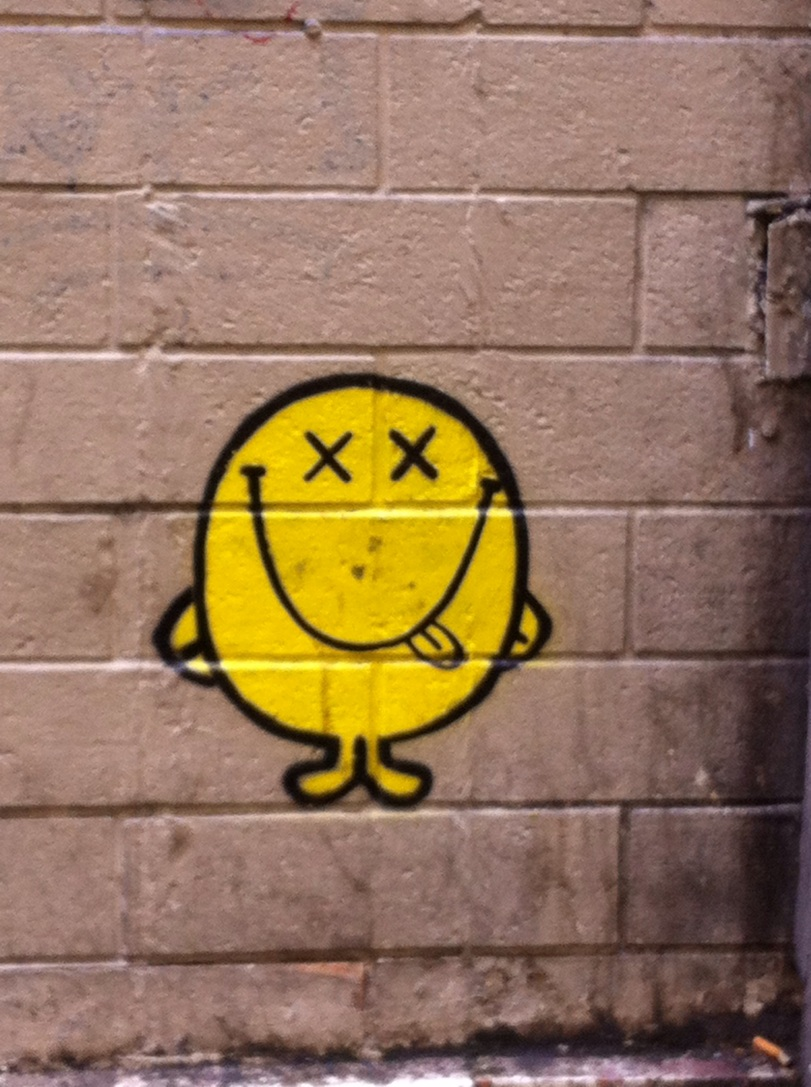 Smiley rue de la huchette